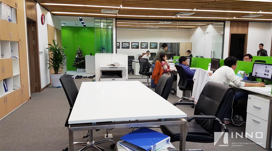 Văn phòng công ty TNHH xây dựng 105